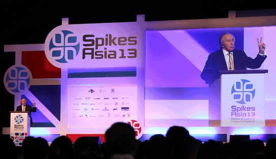 Spikes Asia, Festival of Advertising, Singapore 2013