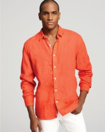 I'm guessing I didn't look this good in my orange shirt.